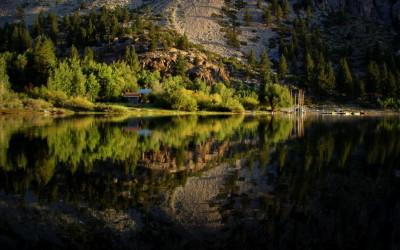 Summer Morning at Lundy Lake 2010
