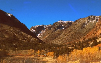 Lundy Canyon November 2012