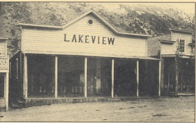 Lakeview Hotel, Lundy, CA 1800's