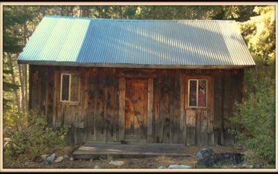 Muir-Hanah Cabin in Lundy Canyon